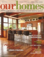 See one of our stunning kitchens featured in the Fall 2012 issue of Our Homes Magazine!